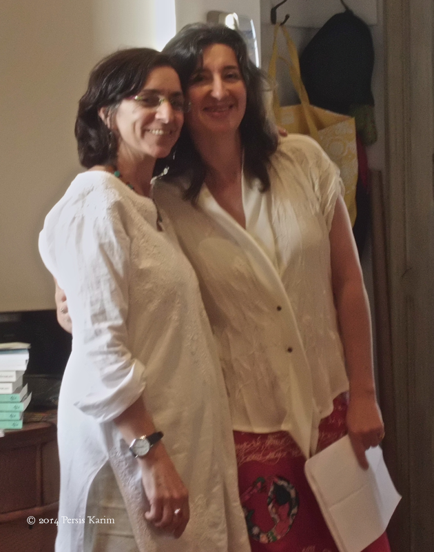 Persis Karim and Anita Amirrezvani (co-editors of Tremors)