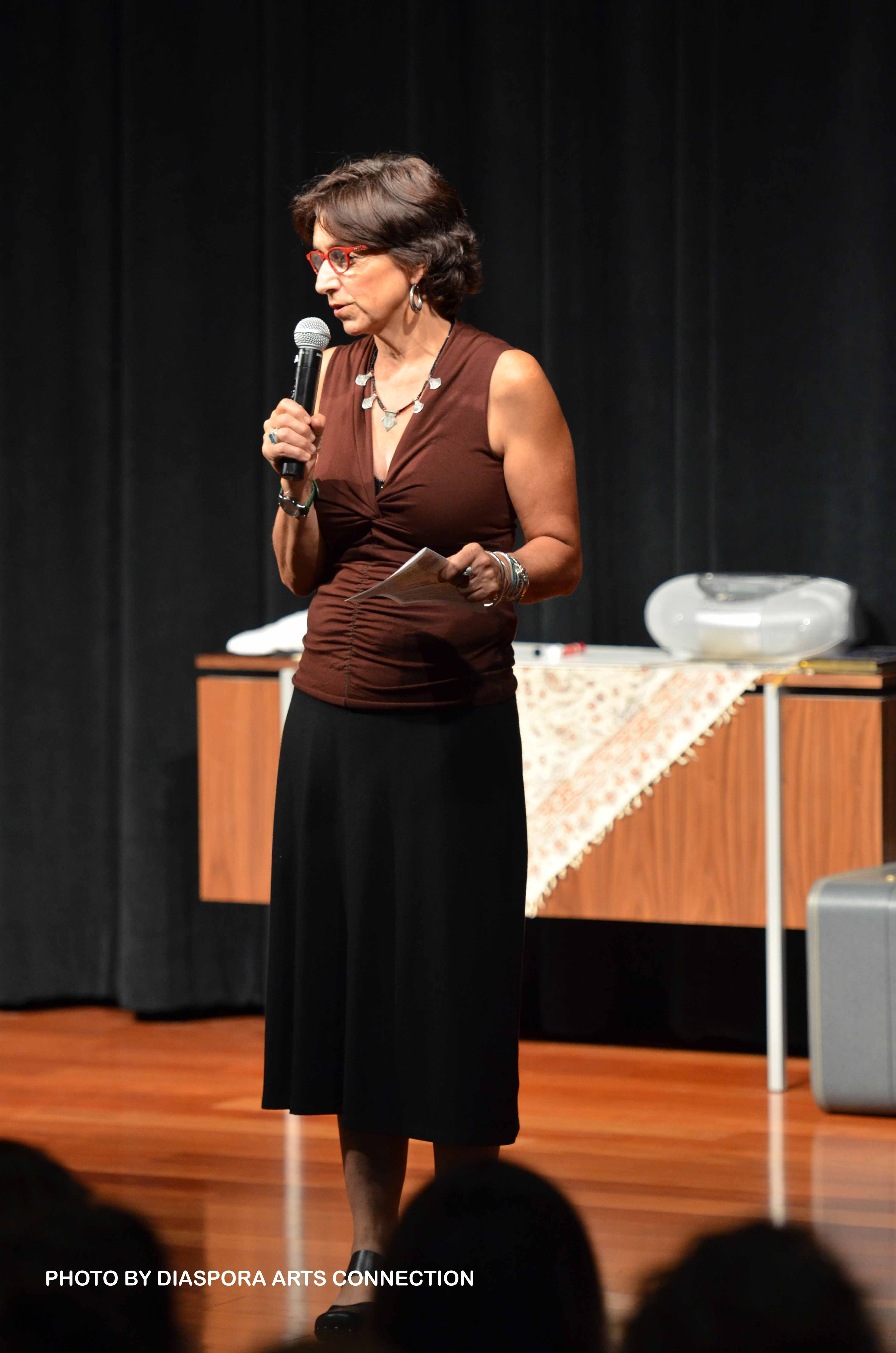 "Persis Karim introduces  ""Together Tea"" — a play she produced at SJSU"